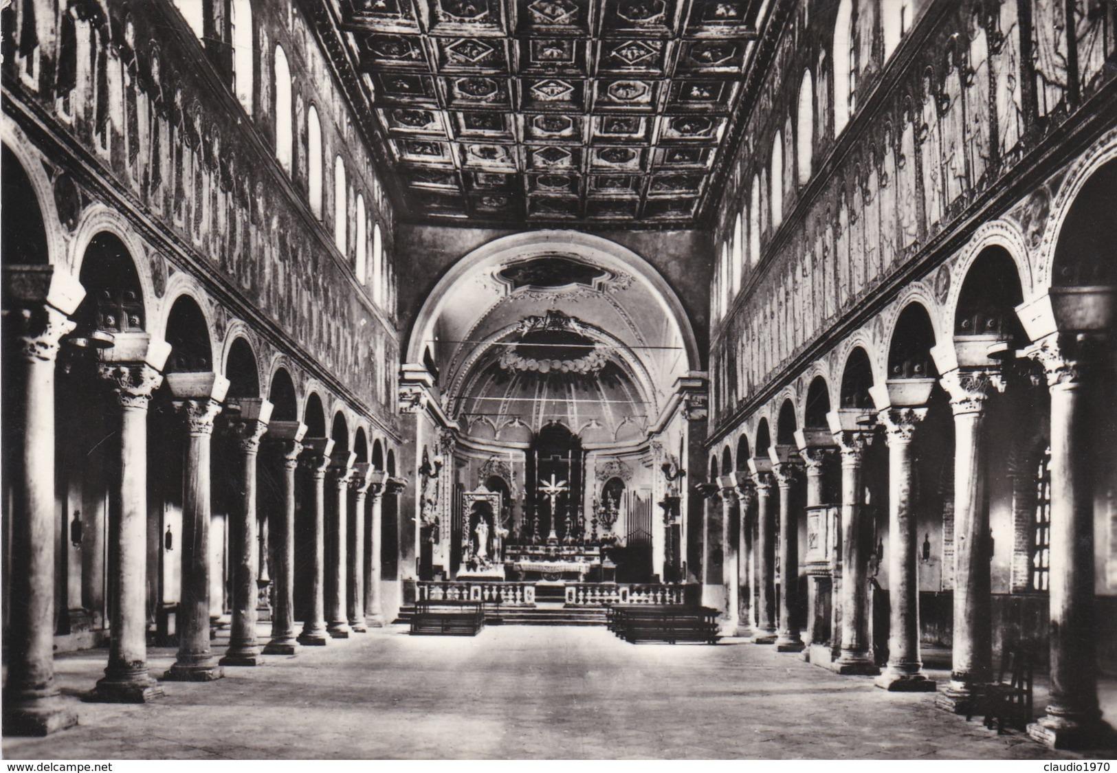 CARTOLINA - POSTCARD - RAVENNA - S. APOLLINARE NUOVO ( SEC. VI ) - INTERNO - Ravenna