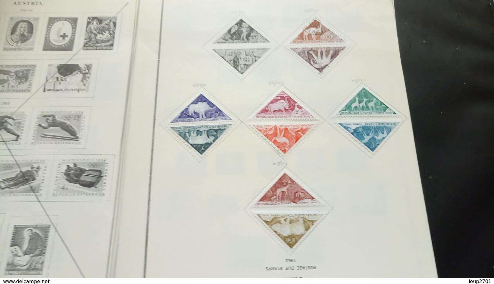 F0979 LOT FEUILLES CANADA FRANCE + DIVERS A TRIER COTE++ DÉPART 10€ - Sammlungen (im Alben)