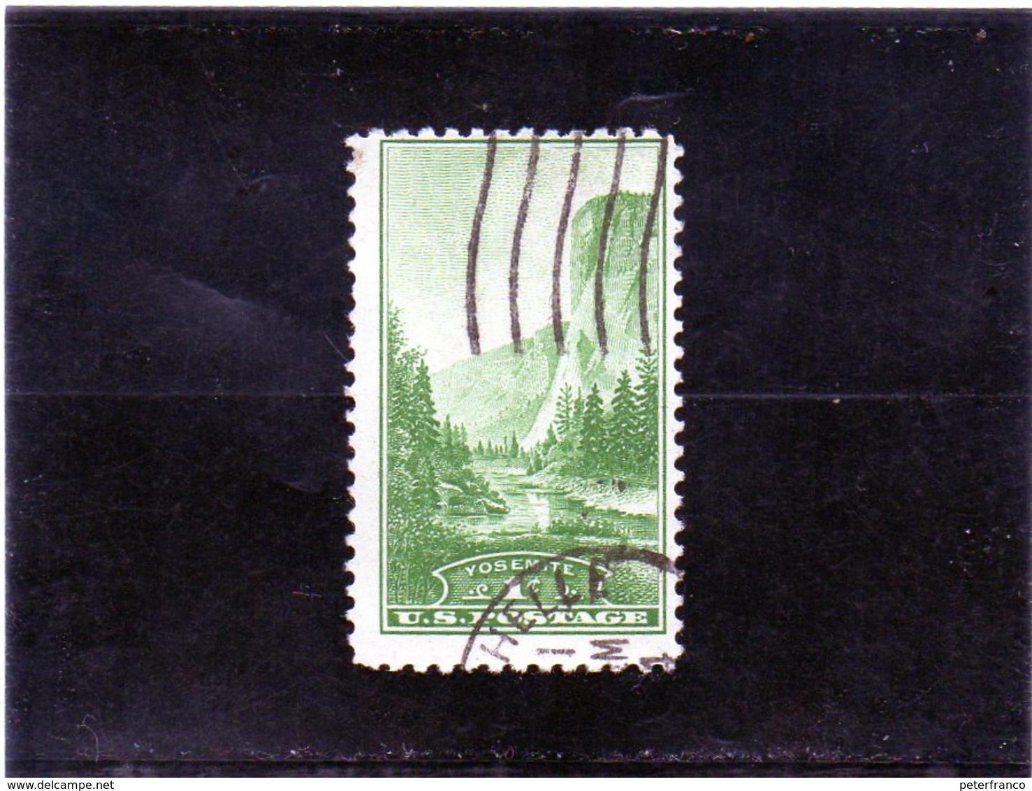 B - 1934 Stati Uniti - El Capitan Summit - Yosemite Park - Vereinigte Staaten