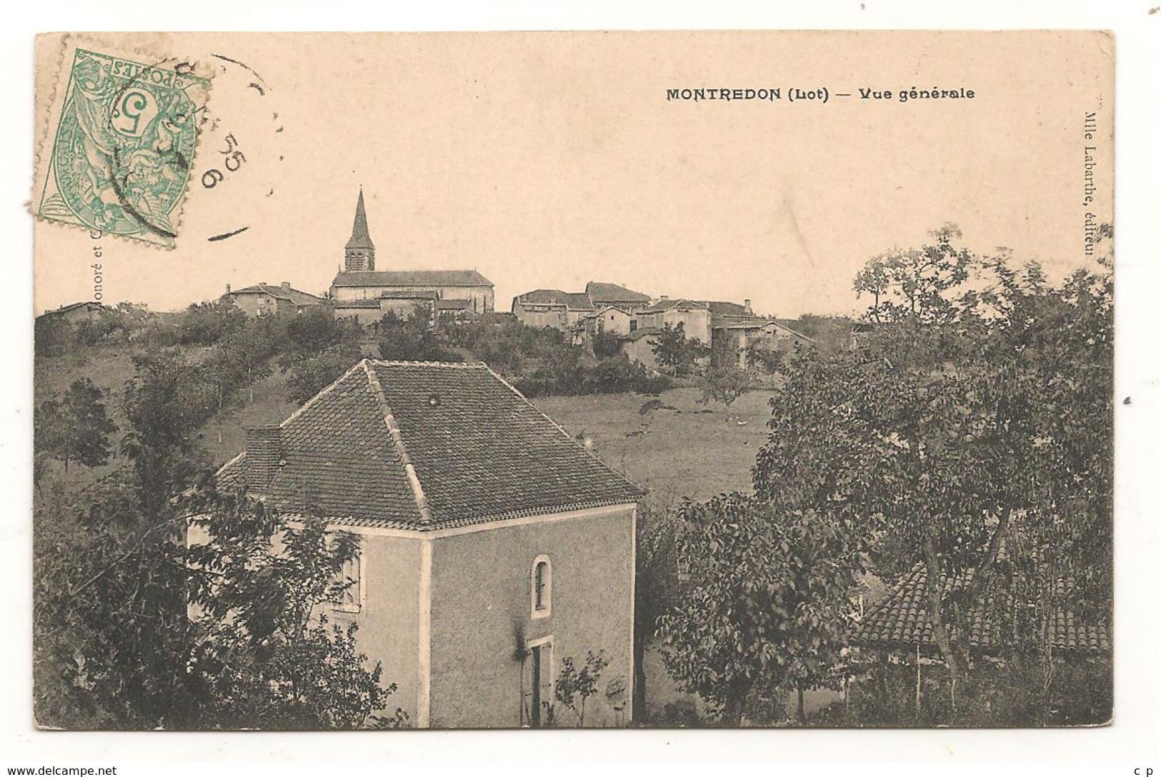 Montredon - Vue Generale -  CPA° - France