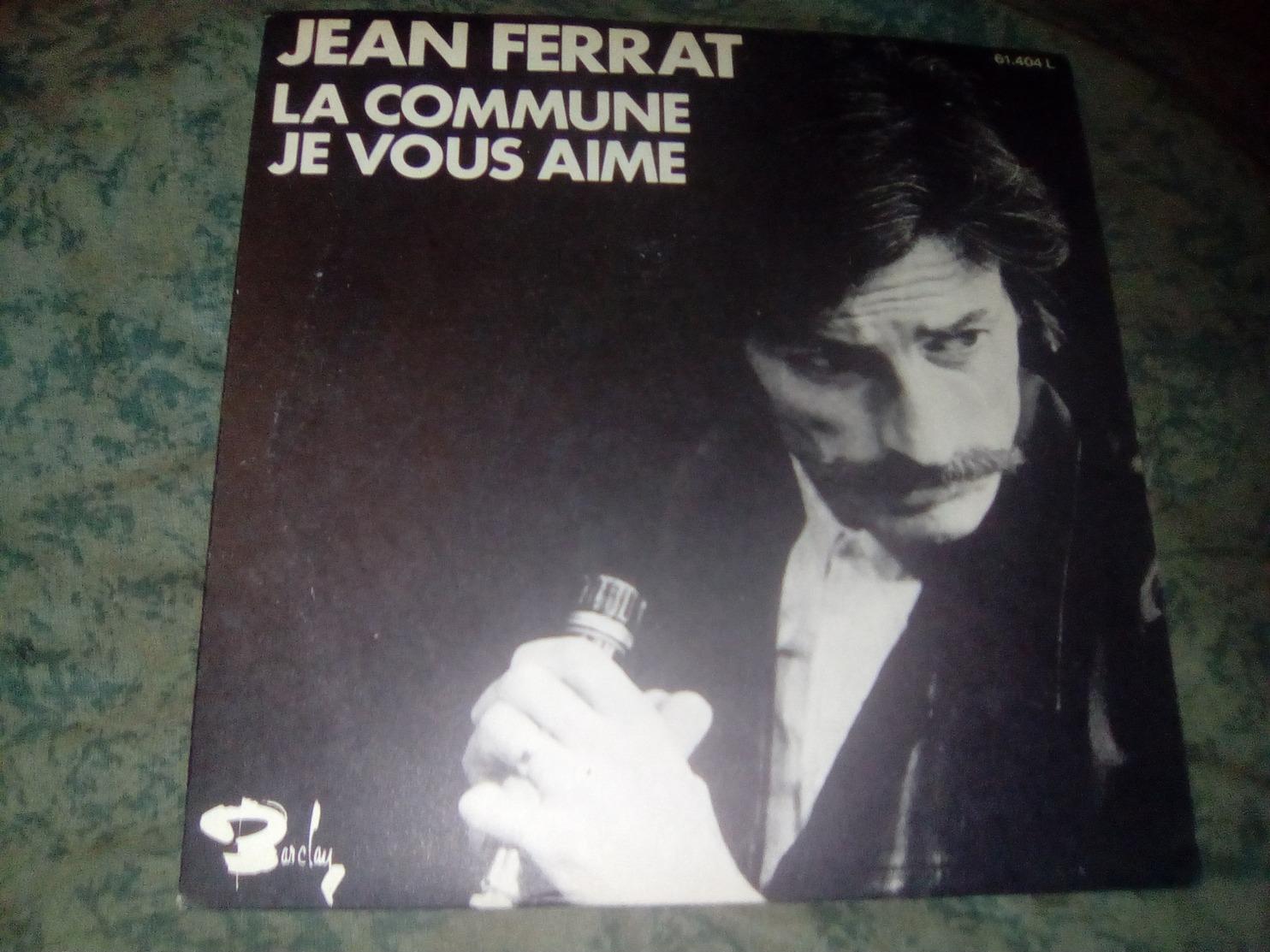 "JEAN FERRAT ""La Commune"" - Vinyl Records"