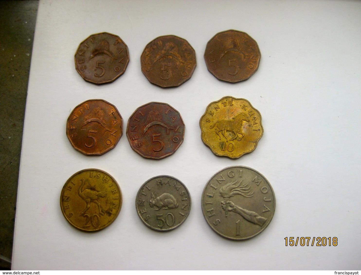 Tanzania: Lot De 16 Monnaies 1966 - 2014 - Tanzanie