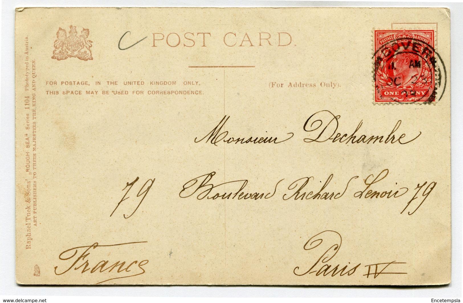 CPA - Carte Postale - Royaume Uni - London - Rough Sea At Dover - 1903 ( CP4305 ) - Dover