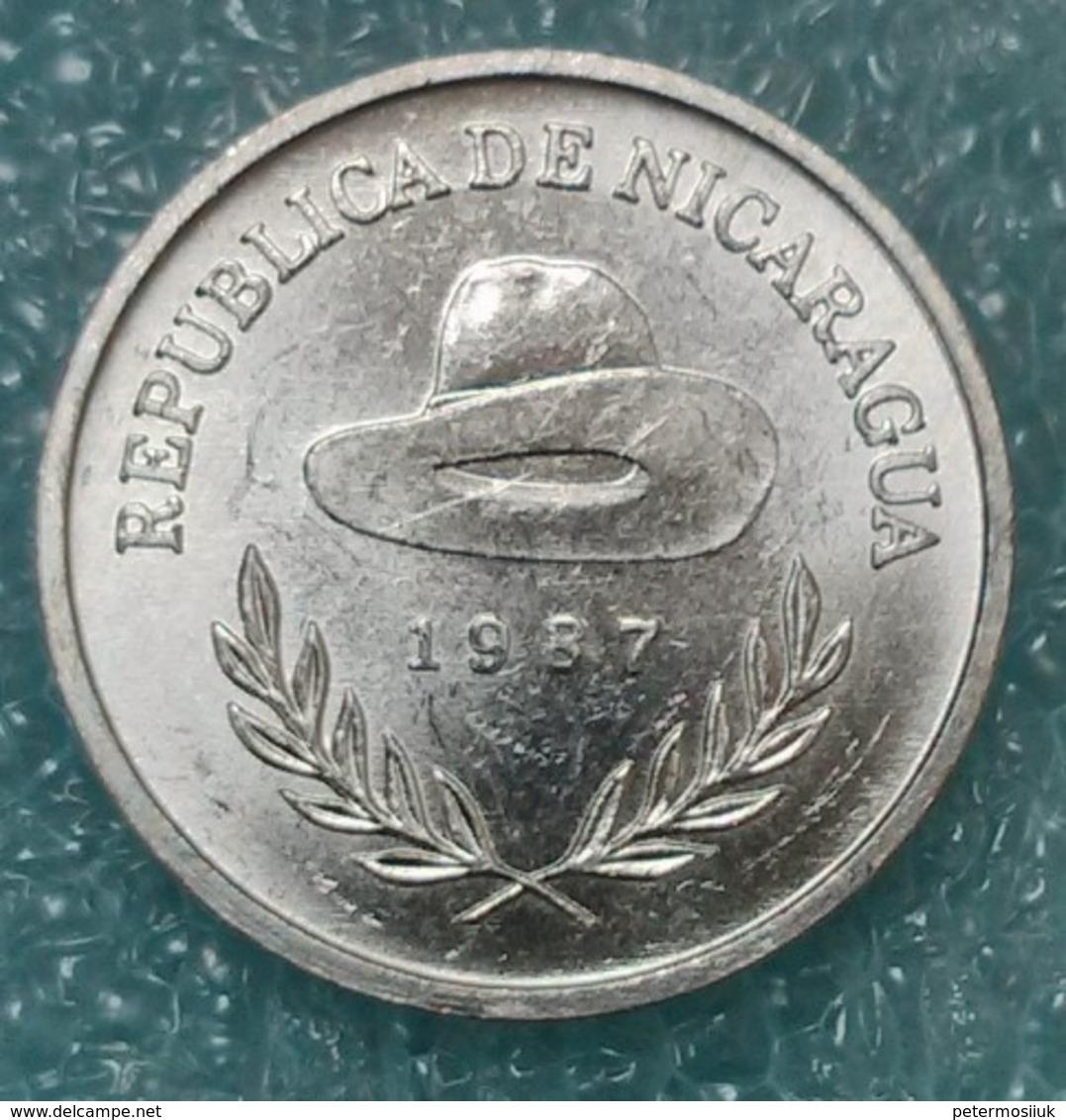 Nicaragua 25 Centavos, 1987 -0585 - Nicaragua