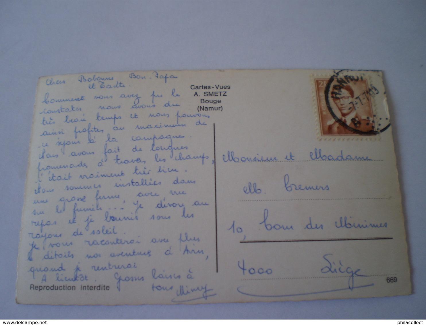 Avin En Hesbaye (Hannuit) Cateau Moncheur // Used 1971? - Hannuit