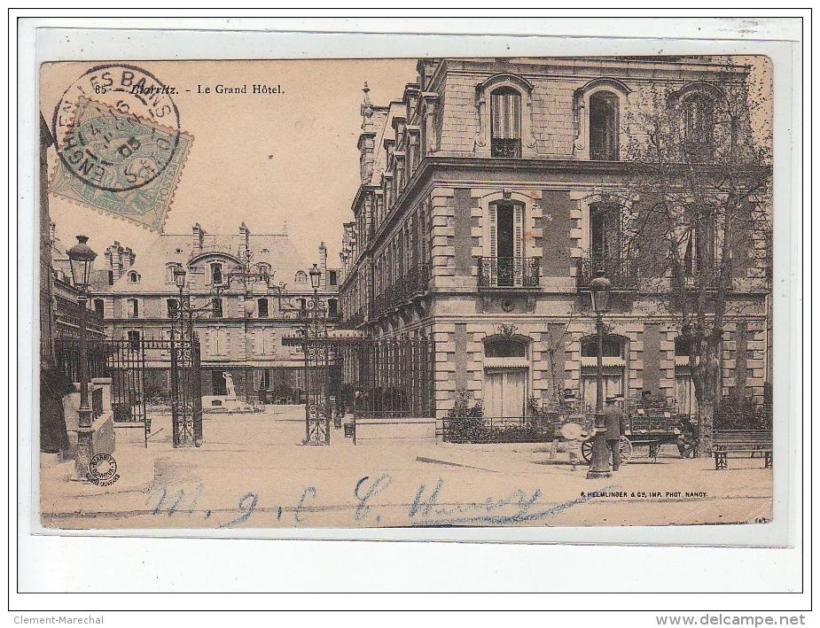 BIARRITZ  - Le Grand Hôtel - Très Bon état - Biarritz