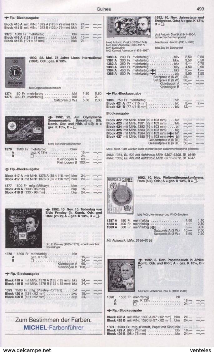 Guinea 23.07.1992 Mi # 1376 АВ; Bl 417-18 АВ Barcelona Summer Olympics (III) MNH OG - Verano 1992: Barcelona