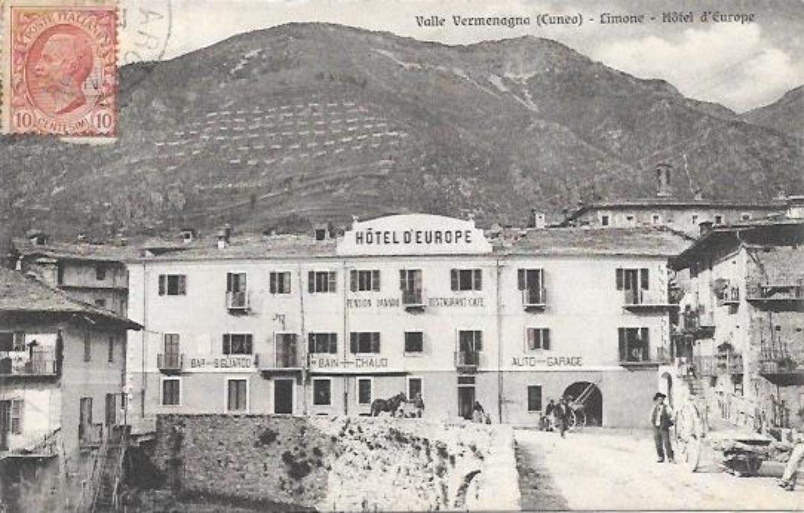 ITALIE CPA VALLE VERMENAGNA LIMONE HOTEL D'EUROPE - Italie