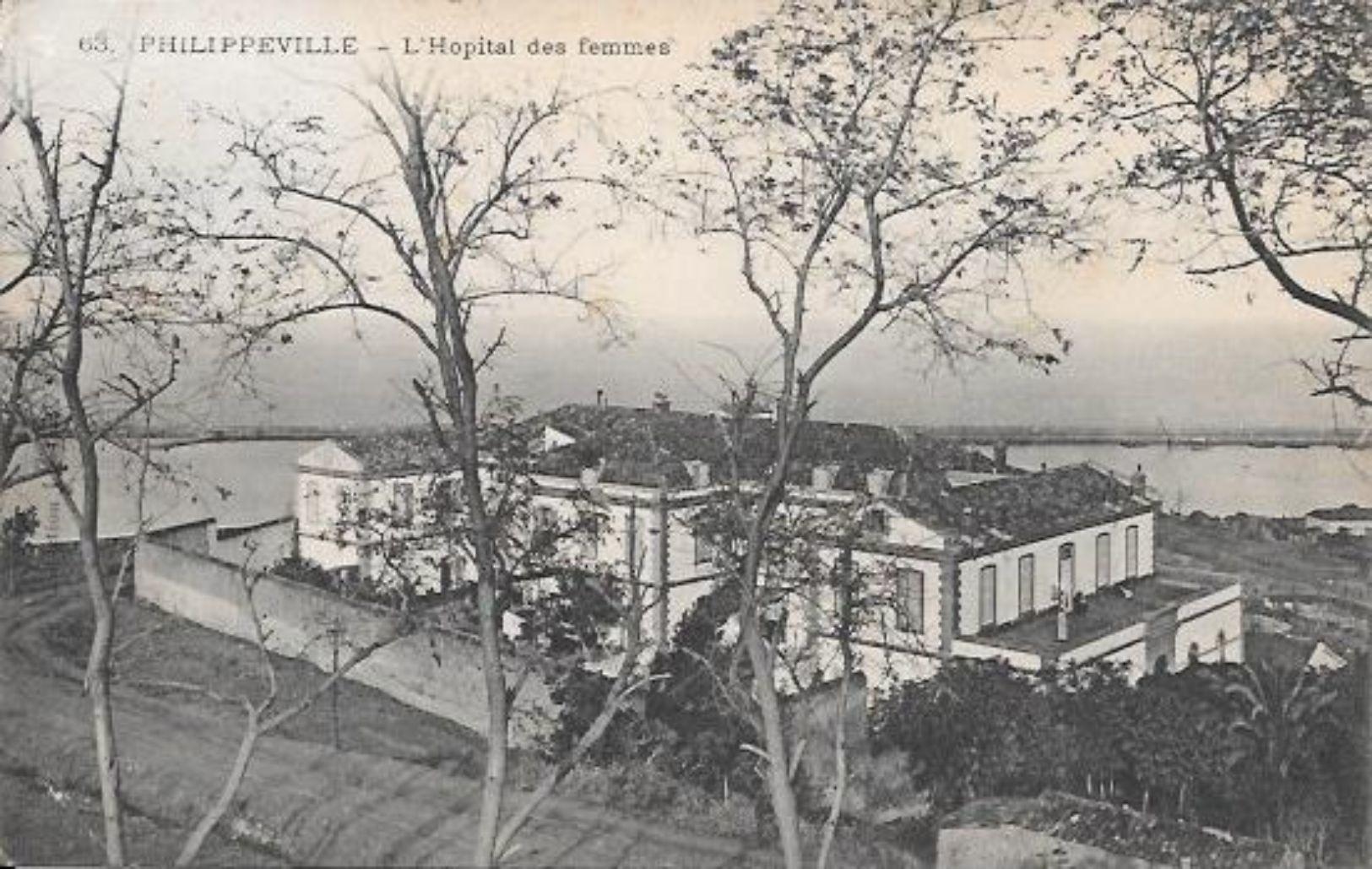 ALGERIE CPA PHILIPPEVILLE L'HOPITAL DES FEMMES - Algérie