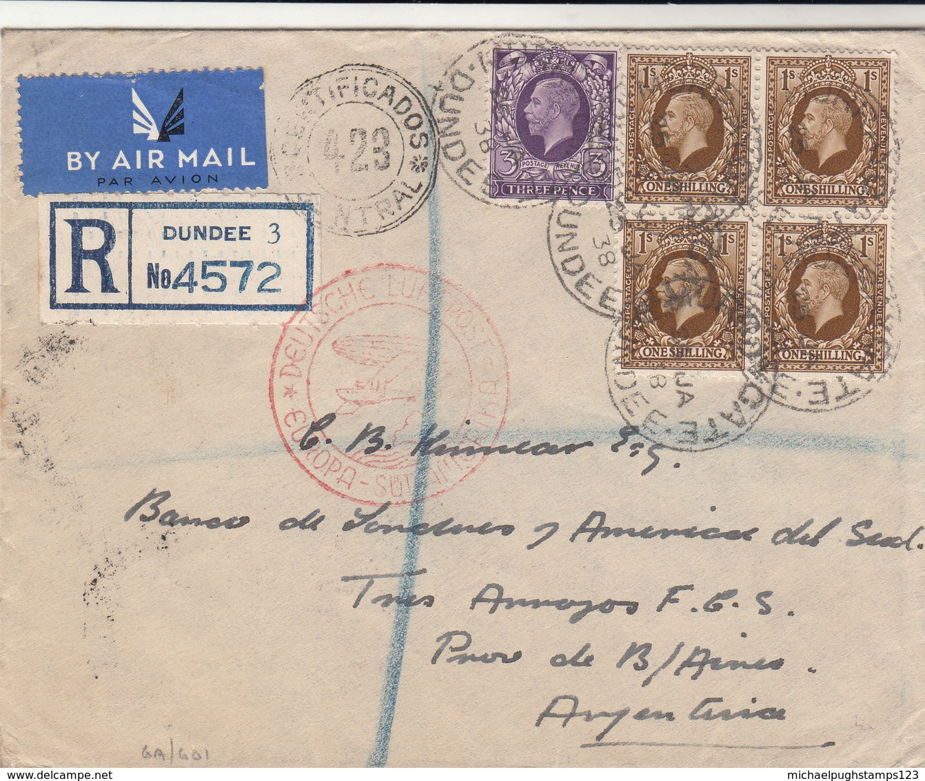G.B. / Airmail / Germany / Argentina / Scotland / Photogravures - 1902-1951 (Könige)