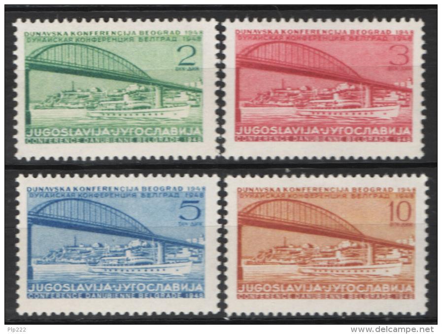 Jugoslavia 1948 Unif. 494/97 MNH/** VF - 1945-1992 Repubblica Socialista Federale Di Jugoslavia