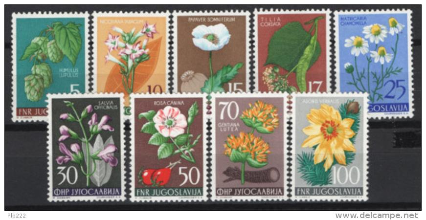 Jugoslavia 1955 Unif. 669/77 MNH/** VF - 1945-1992 Repubblica Socialista Federale Di Jugoslavia