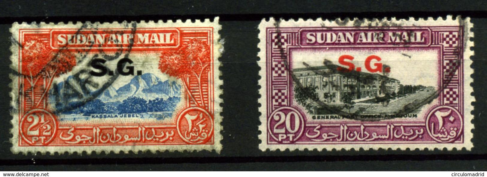3401- Sudán Nº 2 Y 8 - Sudan (1954-...)