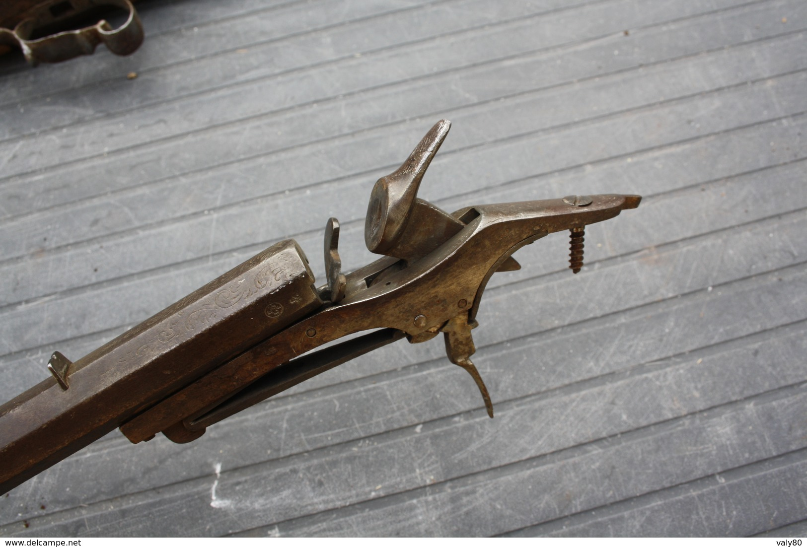 Ancienne Carabine De Foire Type Flobert. - Armi Da Collezione