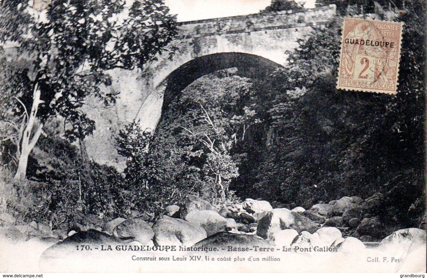 GUADELOUPE N° 15 Seul Sur Carte Postale. Très Bien Centré. TTB - Guadalupe (1884-1947)