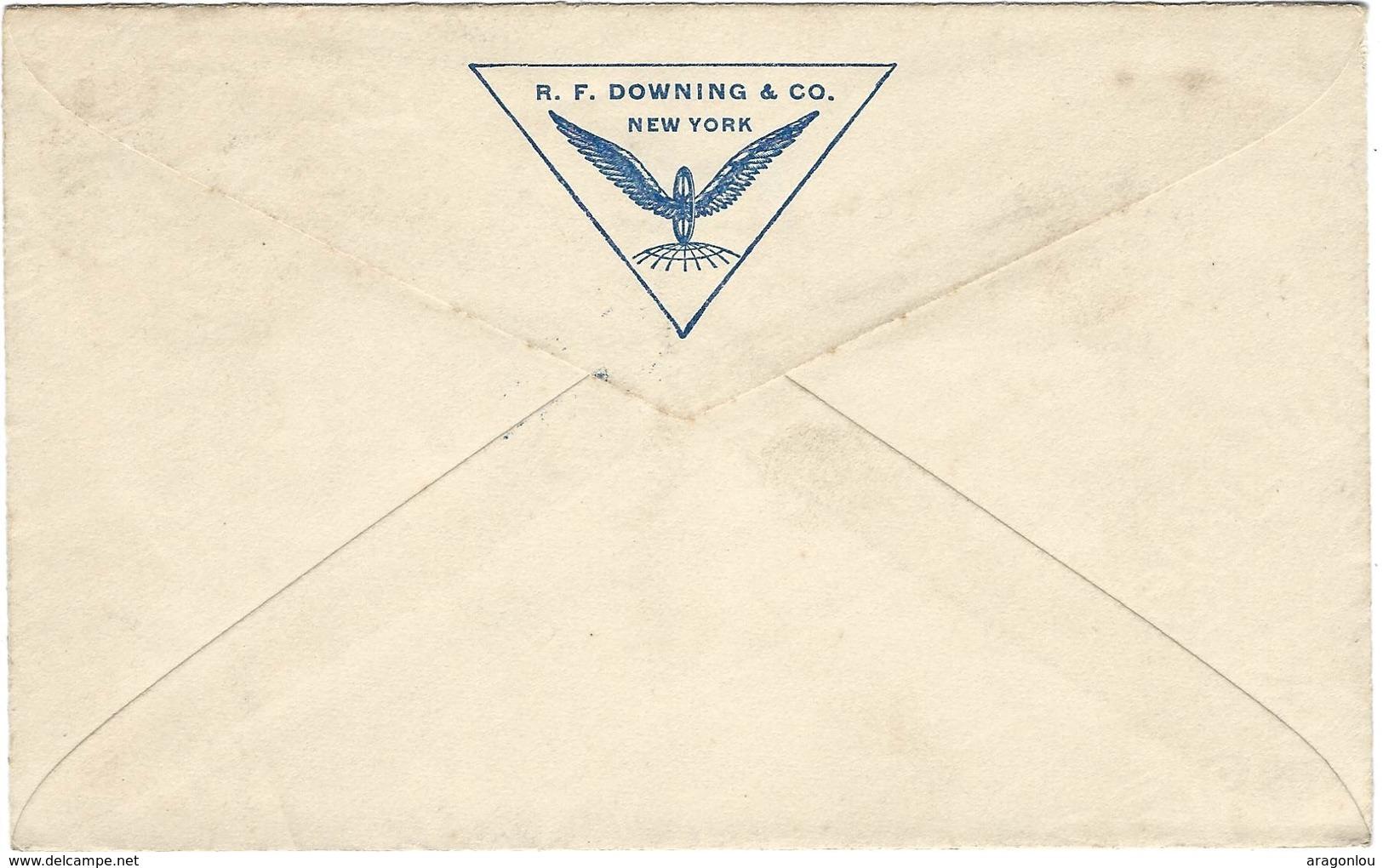 Letter Small, US Postage Five Cent, New York Nov.28 1893 To Paris (2scans) - 1847-99 Emissions Générales