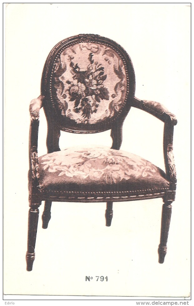 ***  Ebeniste - Modele 791 - Carte Dos Vierge - Artisanat