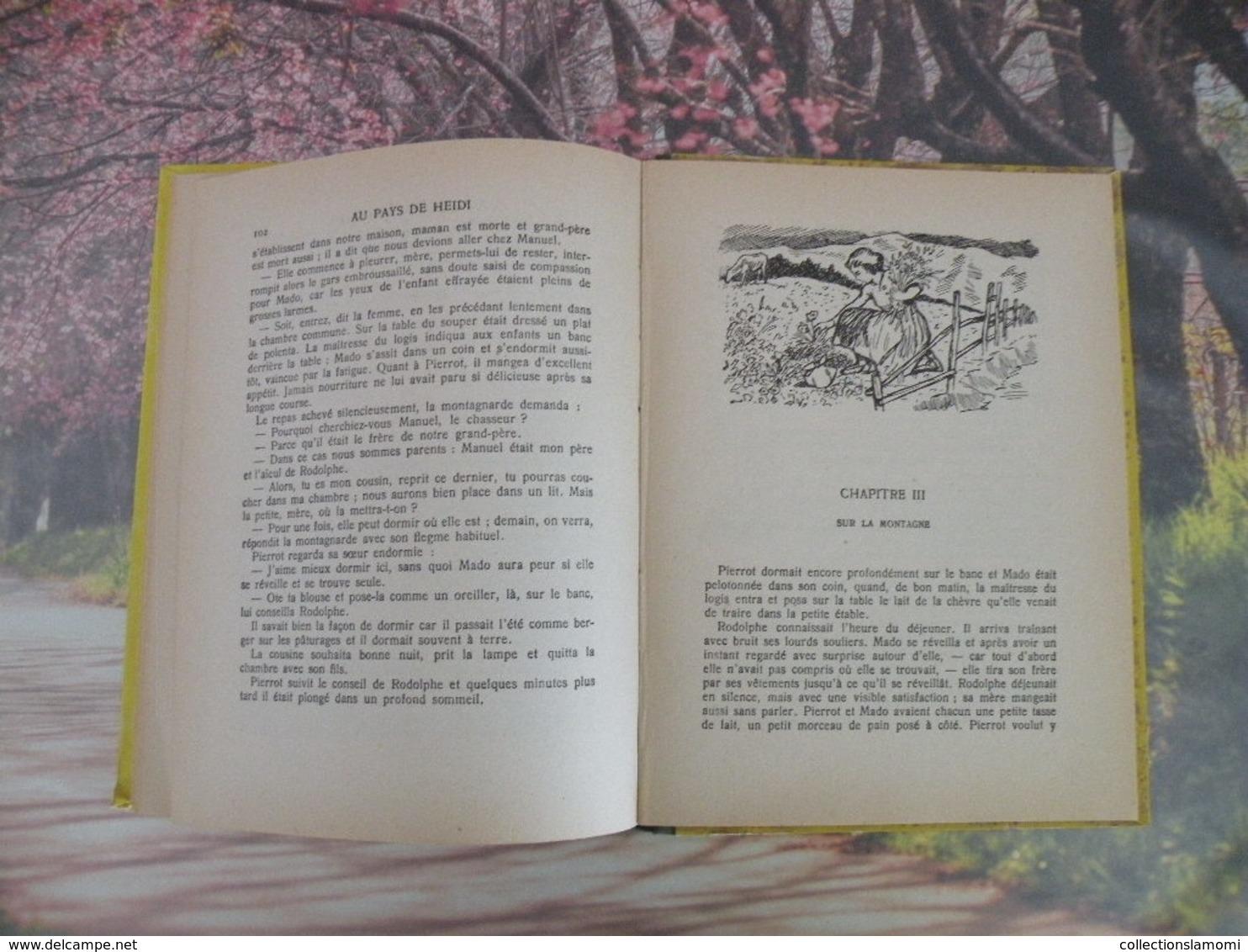 Flammarion > AU PAYS DE HEIDI > JOHANNA SPYRI - 1941 - 156 Pages - Livres, BD, Revues