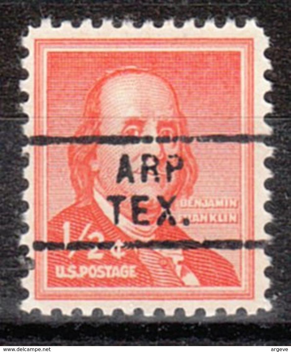 USA Precancel Vorausentwertung Preo, Locals Texas, Arp 729 - Vereinigte Staaten
