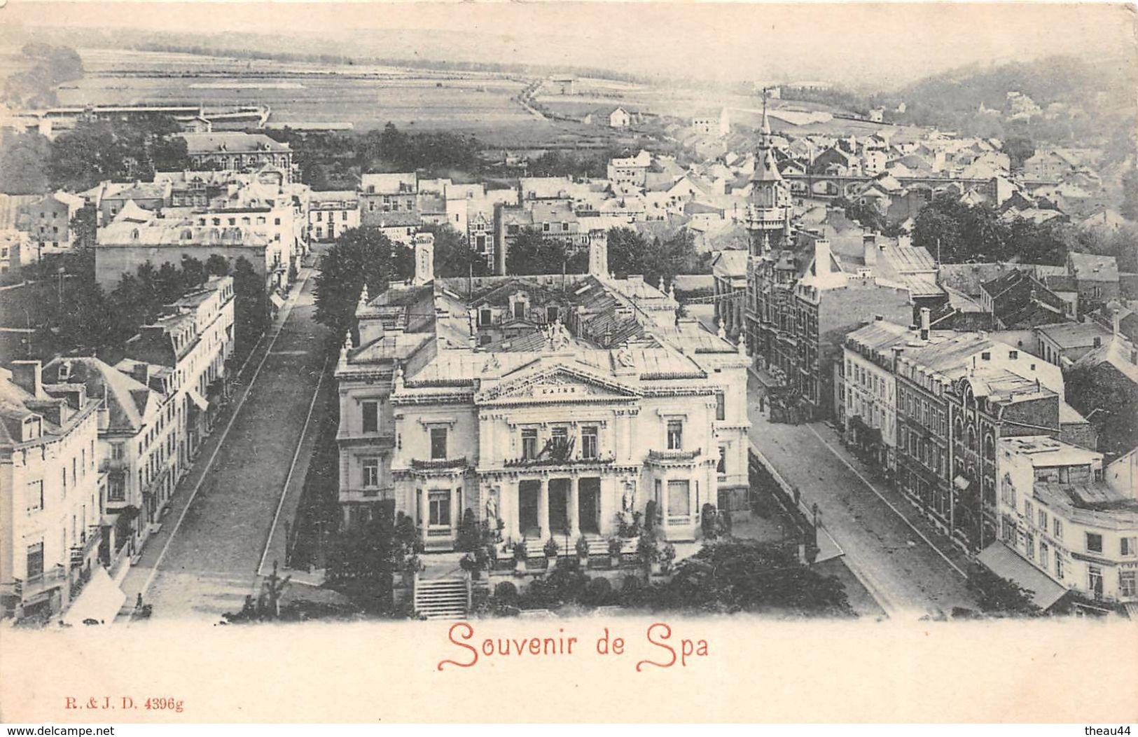 ¤¤  -  BELGIQUE   -   SPA   -  Souvenir De ........    -  ¤¤ - Spa