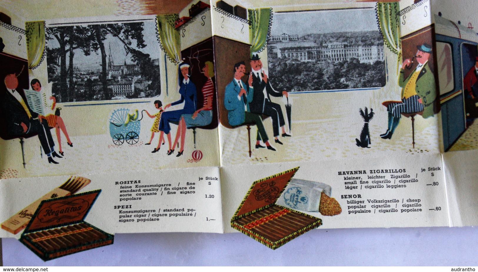 Belle Publicité Ancienne Autriche Tabac Tabaktrafik Train Cigarettes Jonny Memphis Austria Coronas Palmas Österreich - Documents