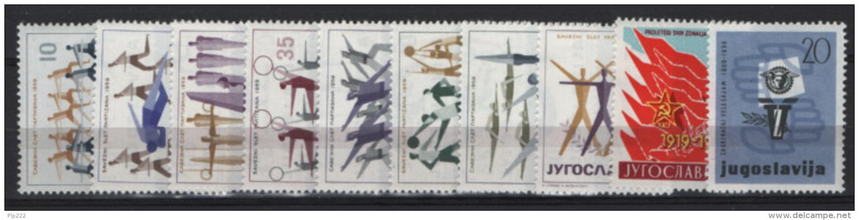 Jugoslavia 1959 3 Emissioni/Issues **/MNH VF - 1945-1992 Repubblica Socialista Federale Di Jugoslavia