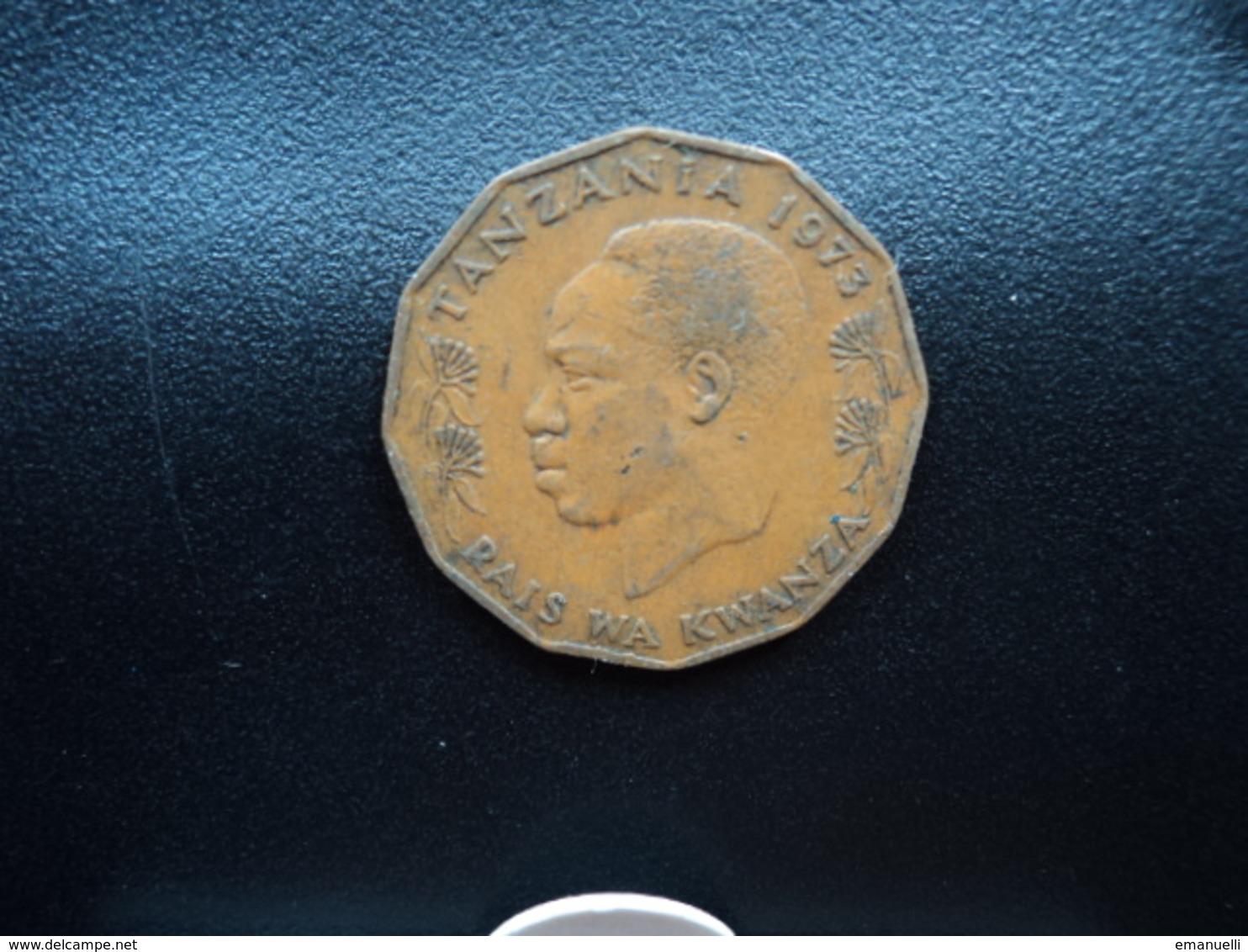 TANZANIE : 5 SENTI  1973   KM 1    TTB - Tanzanie