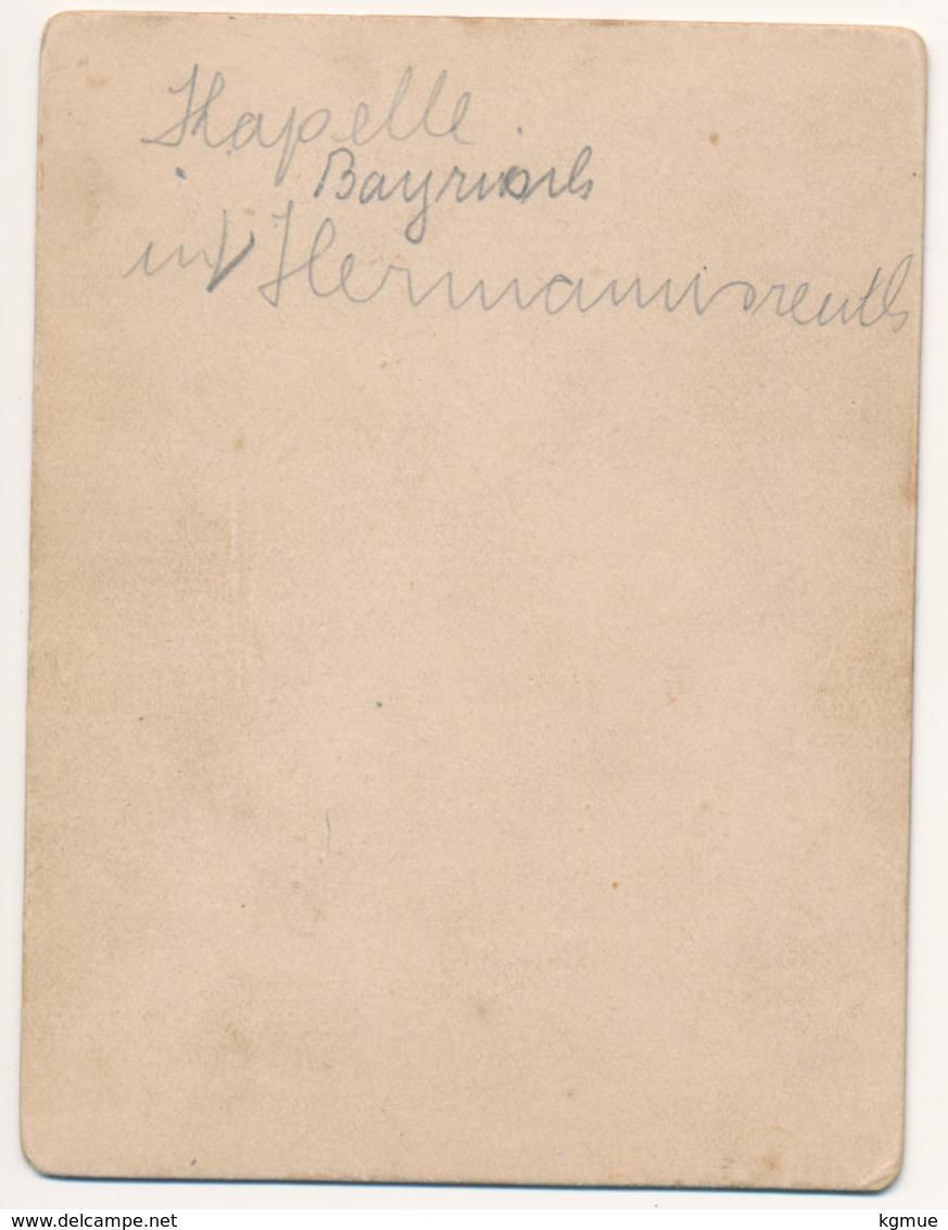 Original Foto Auf Pappe - Kapelle In Bayrisch Hermannsreuth - Ca. 1880 - Landkreis Tirschenreuth - Ca. 9 X 12 Cm - Tirschenreuth