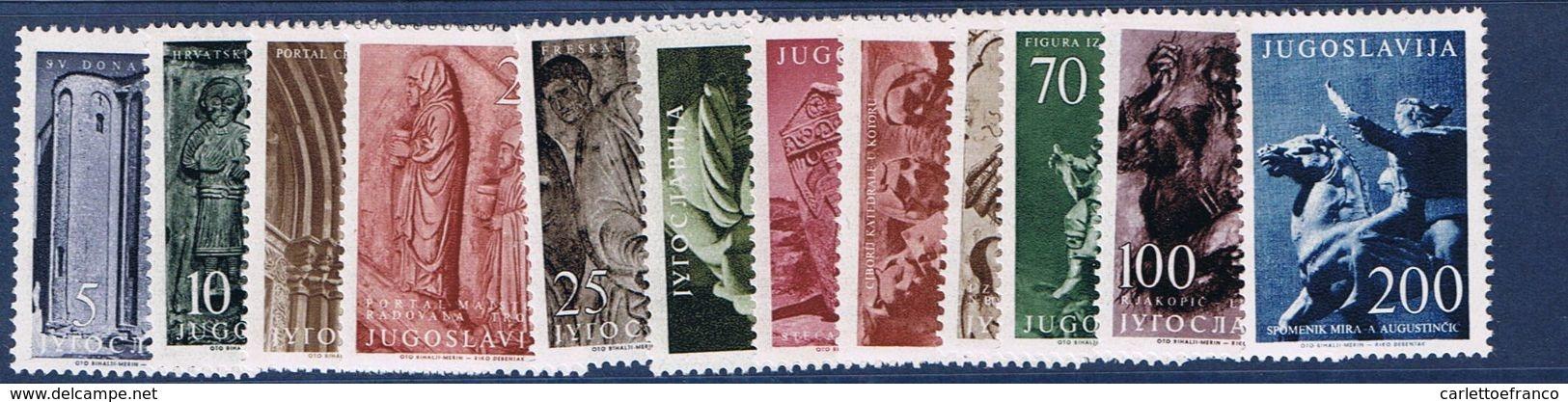 1956 : Serie Arte Figurativa - Nuovi - Perfetti - ** - 1945-1992 Repubblica Socialista Federale Di Jugoslavia