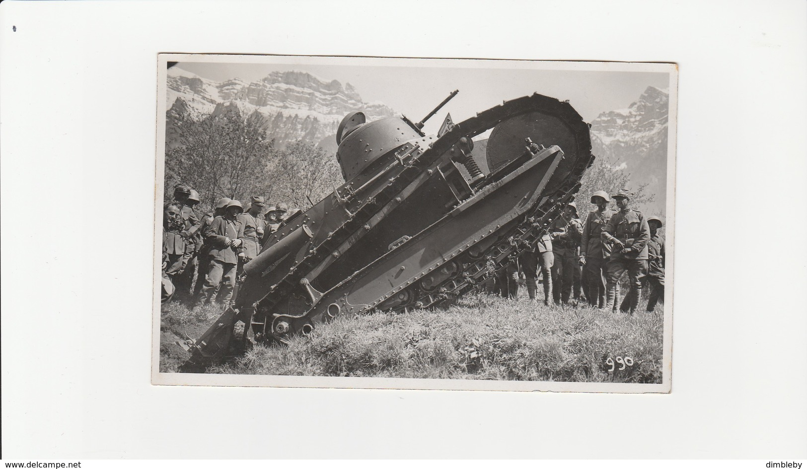 Panzer (Widmer Walenstadt ) (530) - Materiale