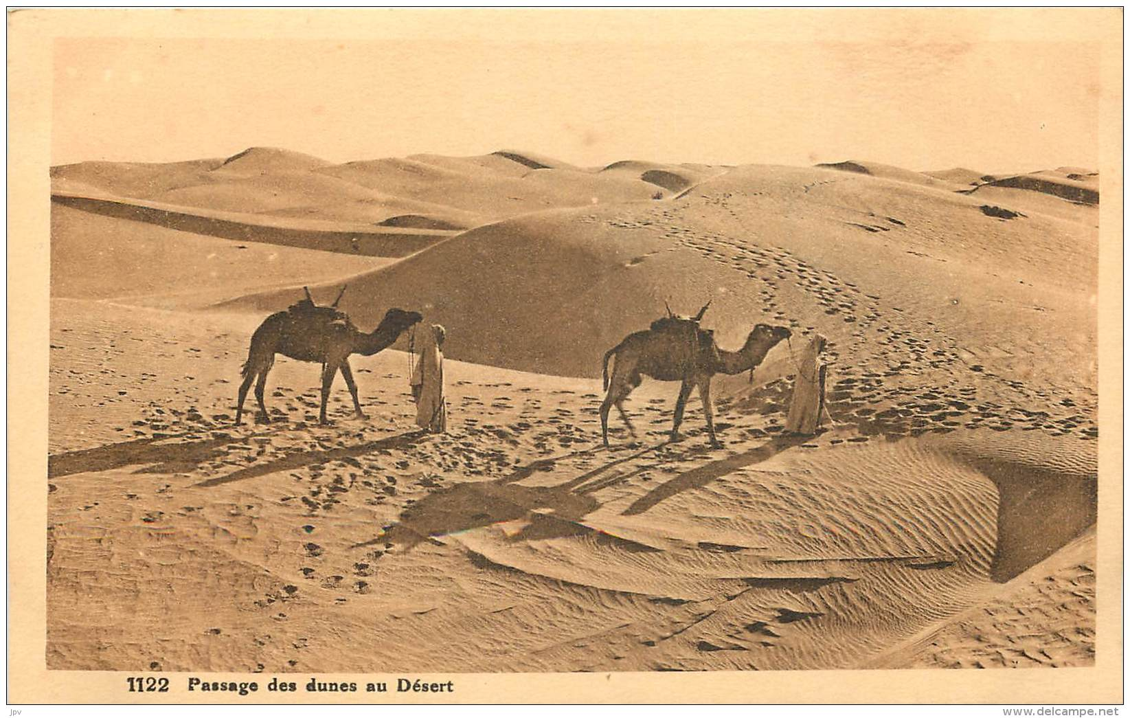Passage Des Dunes Au Désert - Afrique - Postcards