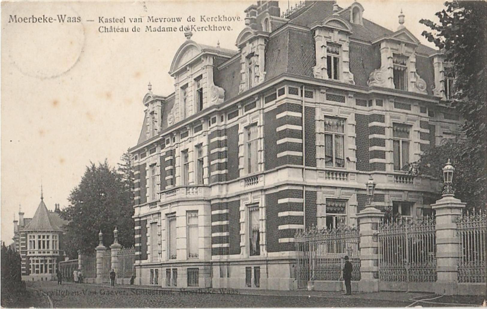 MOERBEKE WAAS Kasteel Van Mevrouw De Kerckhove - Moerbeke-Waas