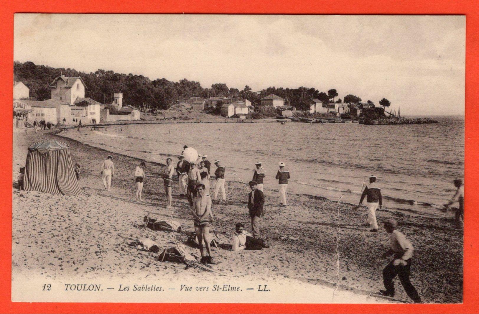 83 - LA SEYNE SUR MER - LES SABLETTES - VUE VERS SAINT-ELME - La Seyne-sur-Mer