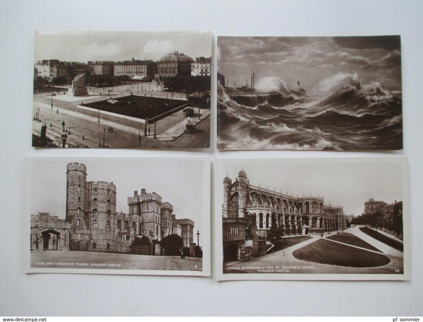 Großbritannien / UK 1905 - 30er Jahre 350 AK Viele Schöne Motive! Etliches Ungelaufen Aber Auch Viel Gelaufen! - Ansichtskarten