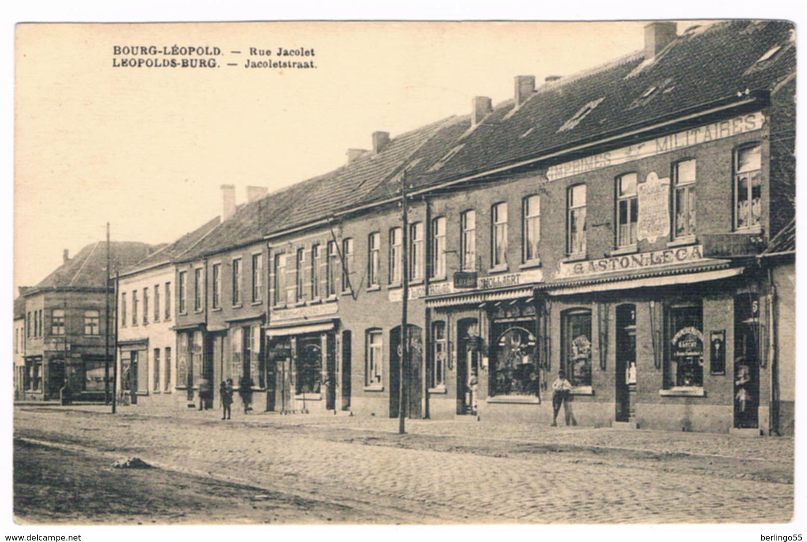 Bourg-Léopold - Rue Jacolet  (Geanimeerd) - Leopoldsburg