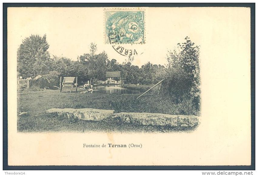 61 VILLERS En OUCHE Fontaine De TERNAN - Non Classés