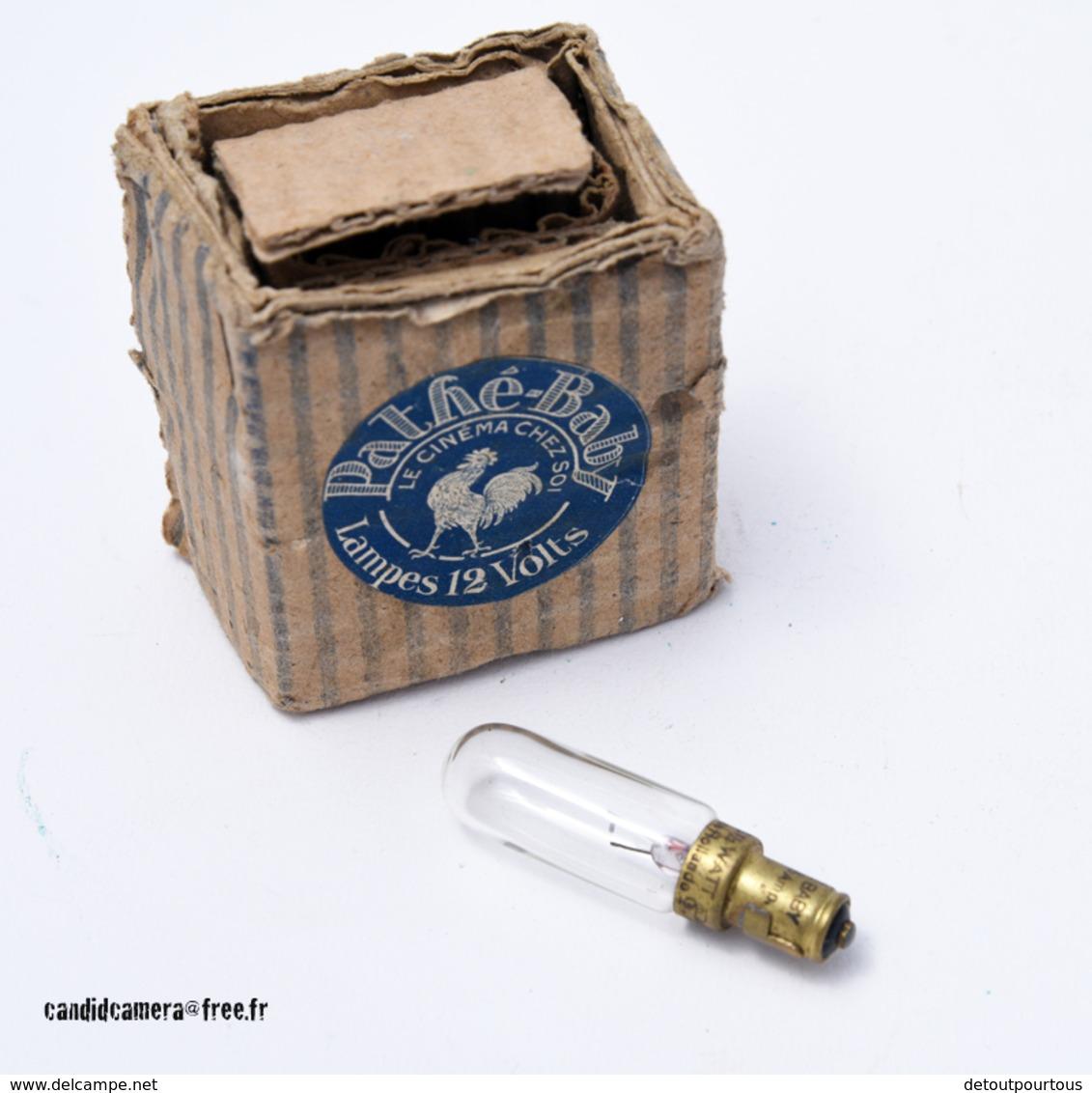 Pour Projecteur Cinéma PATHE BABY Ampoule Lampe De 12V Neuve Dans Sa Boite D'origine - Andere Formaten