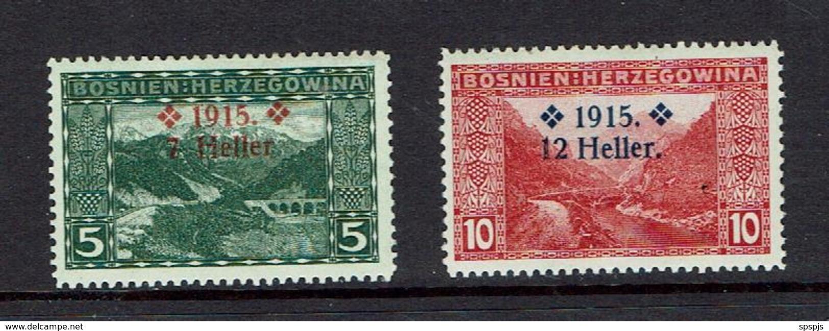 BOSNIA AND HERZEGOVINA....mh...1915 - Bosnia And Herzegovina