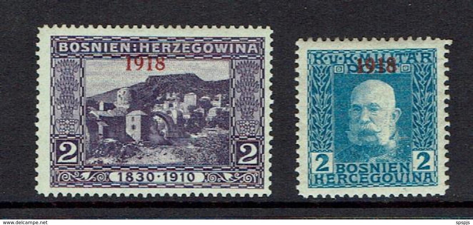 BOSNIA AND HERZEGOVINA...mh...1918 - Bosnia And Herzegovina