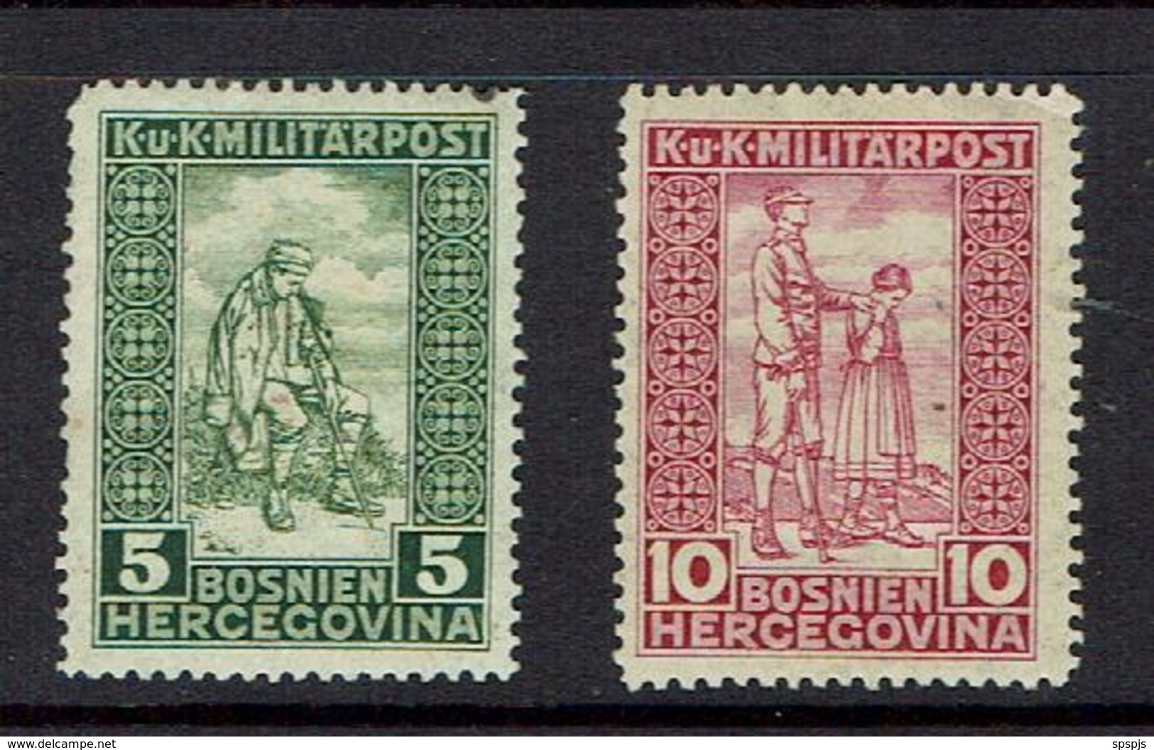 BOSNIA AND HERZEGOVINA...mh...1916 - Bosnia And Herzegovina