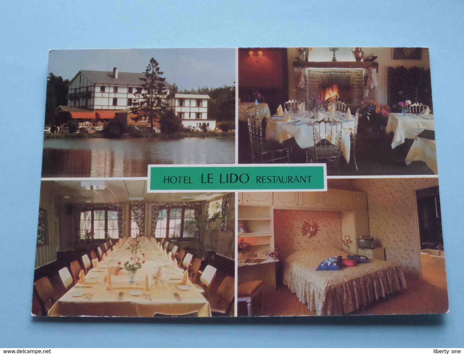 Hôtel LE LIDO Restaurant ( Studio 2001 ) Anno 19?? ( Zie Foto Details ) ! - Rixensart