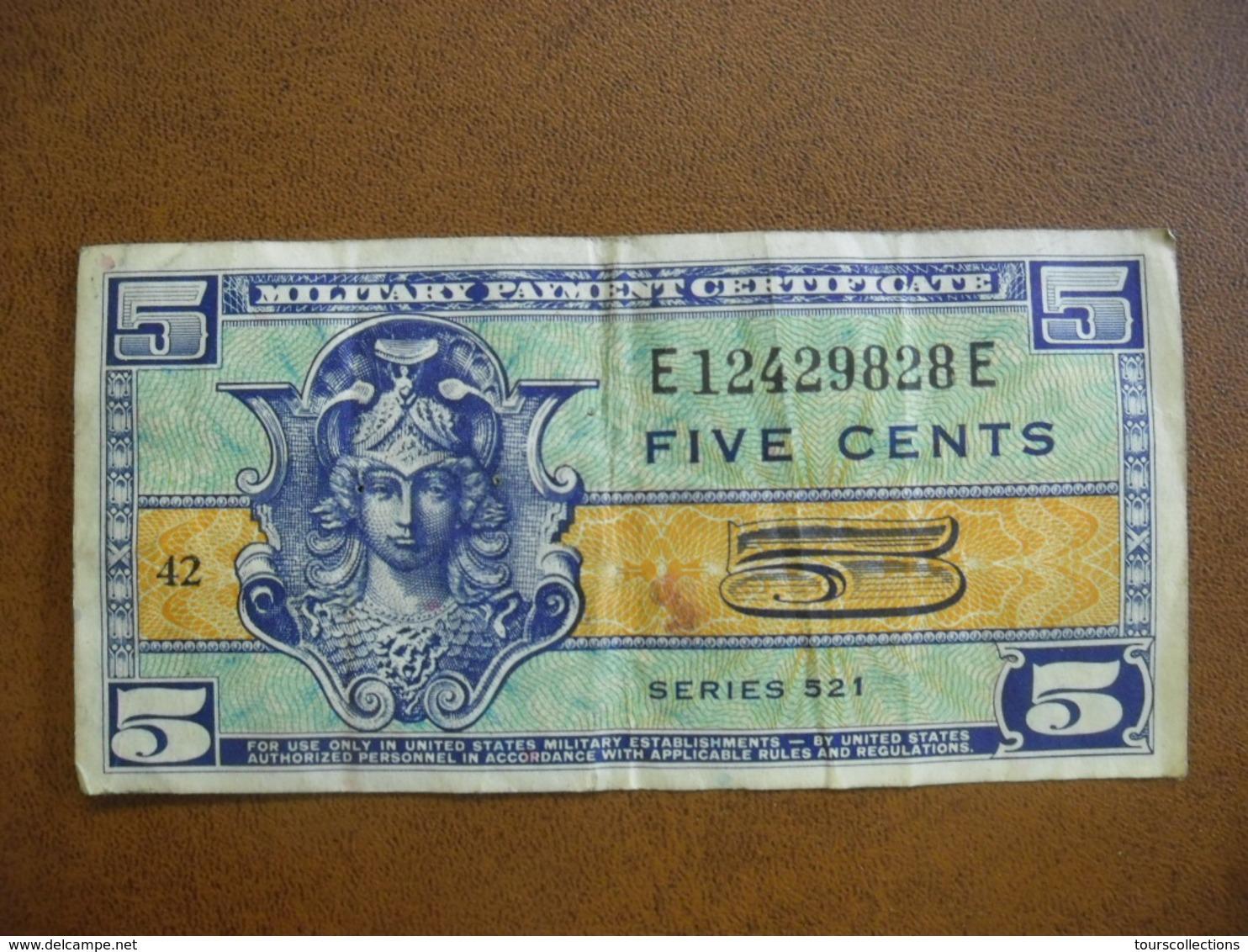 Etats-Unis, 5 Cents Type Série 521, Non Daté (1954), Alphabet 81, Pick M29 - 1954-1958 - Reeksen 521