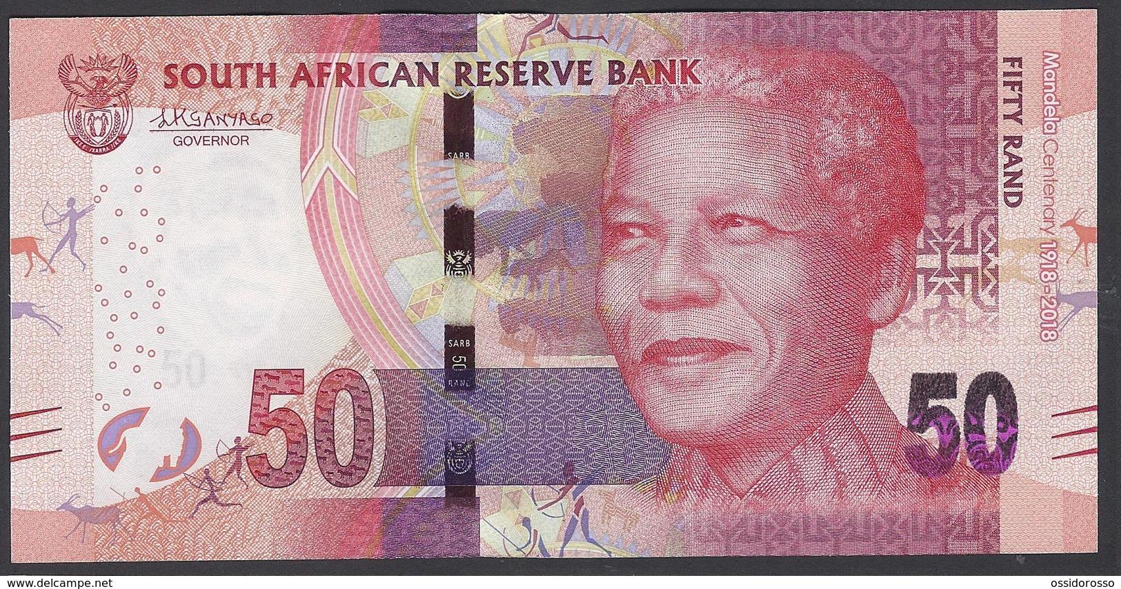 South Africa - 50 Rand -  MANDELA Centenary - 1918 - 2018 - SB9687421 C - UNC - Afrique Du Sud