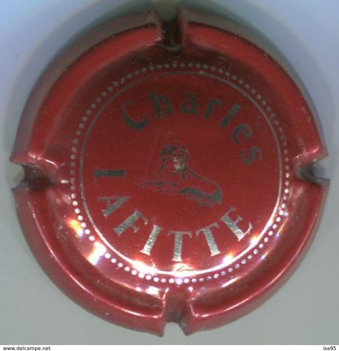 CAPSULE-CHAMPAGNE LAFITTE CHARLES N°03 Rouge & Métal - Lafitte, Charles