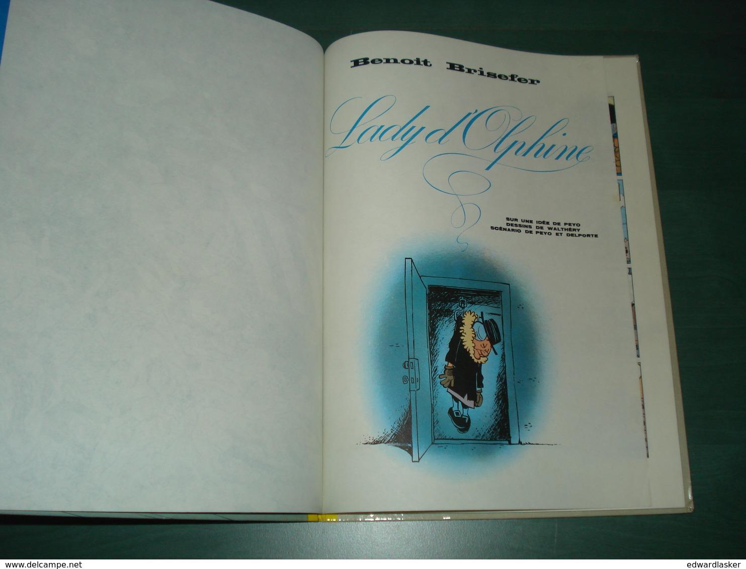 BENOIT BRISEFER 6 : Lady D'Olphine //Peyo - Dupuis EO 1973 - Bon état - Benoît Brisefer