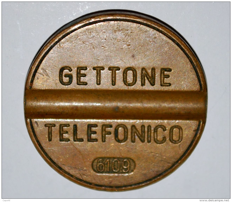21 GETTONE TELEFONICO - NO MARCHIO - 6109 - Professionals/Firms