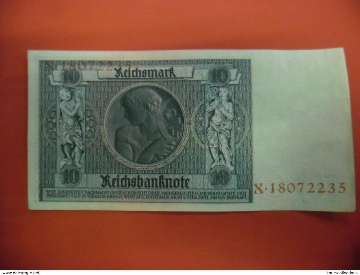 BILLET ALLEMAGNE De 1929 - 10 REICHSMARK - Portrait De Albrecht D. Thaer  @ WPM N°173b - 10 Mark