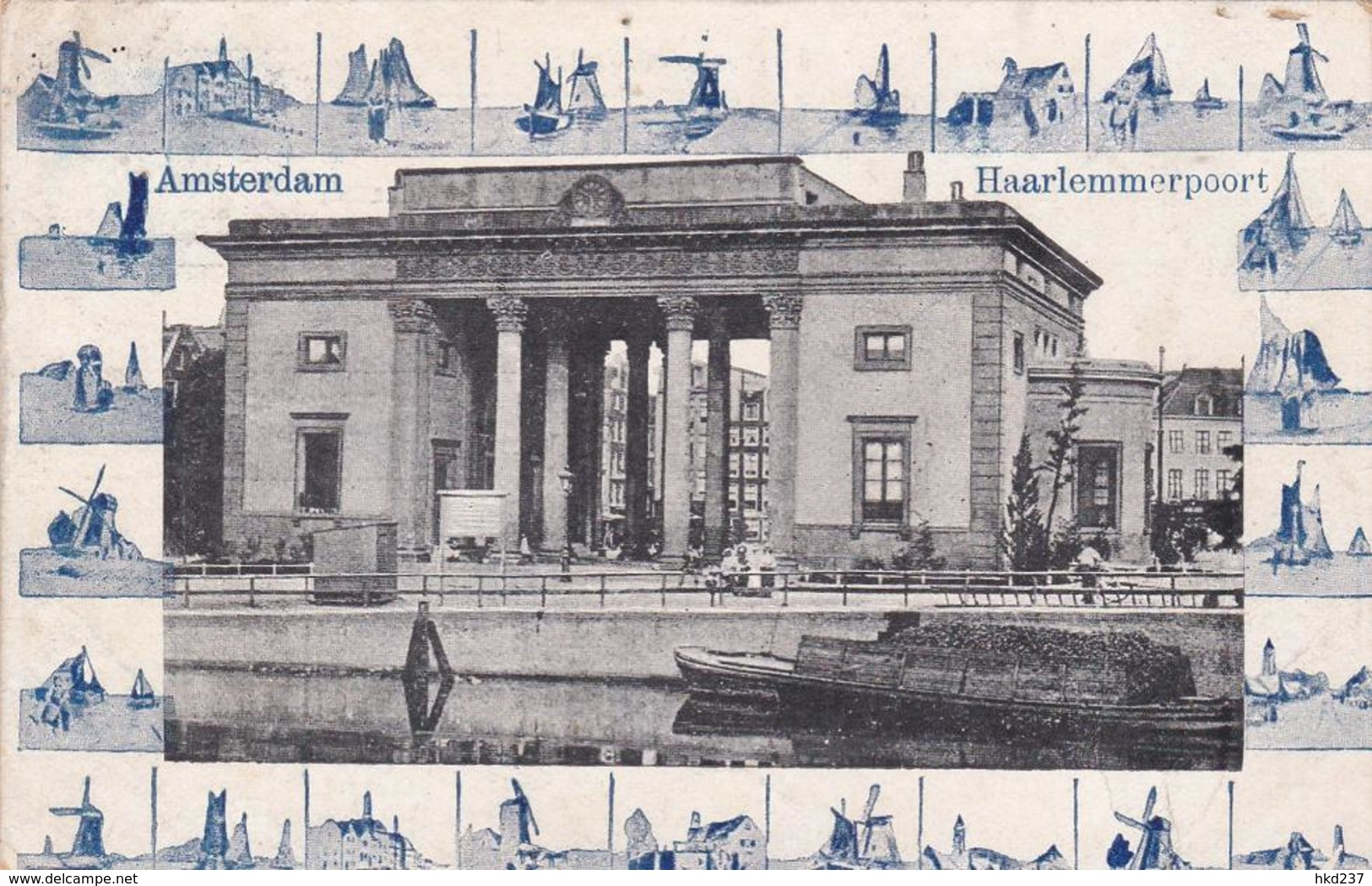 Amsterdam Haarlemmerpoort # 1906 Westzijde Molen- Scheepjeskaart   271 - Amsterdam