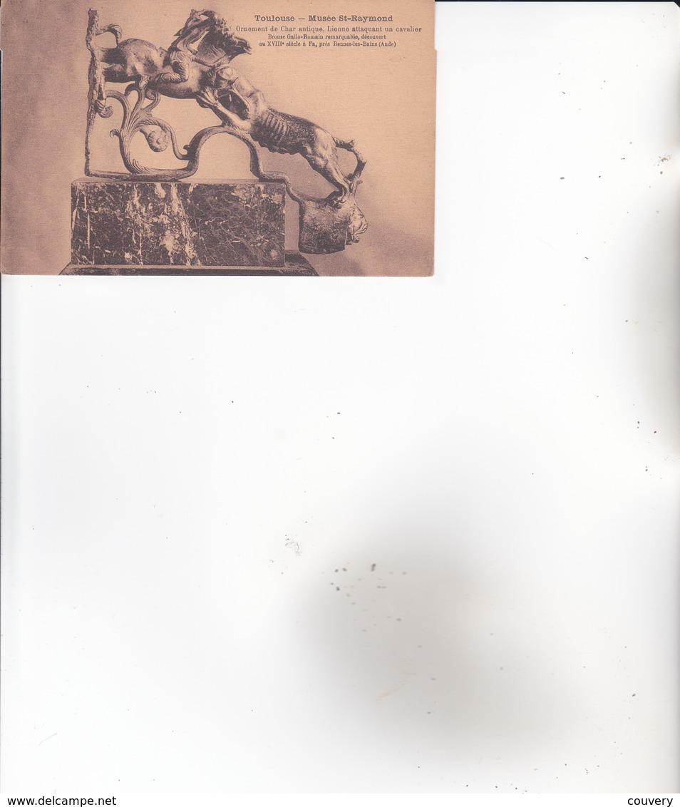 CPA 11 RENNES-LES-BAINS ,ornement De CHAR GALLO-ROMAIN ,trouvé à Rennes. (XVIII°s.) - Autres Communes
