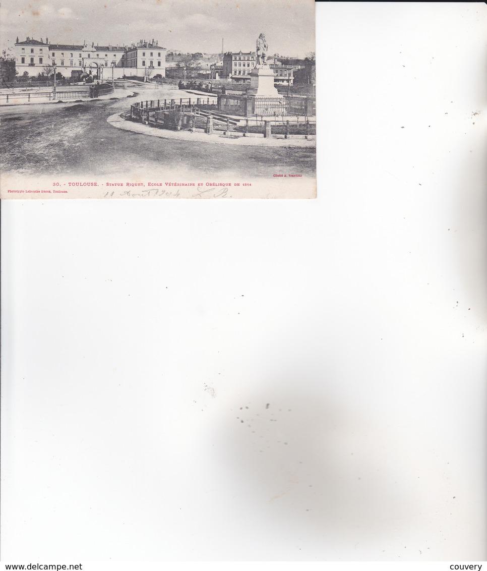 CPA 31 TOULOUSE, école Vétérinaire.  (1904) - Toulouse